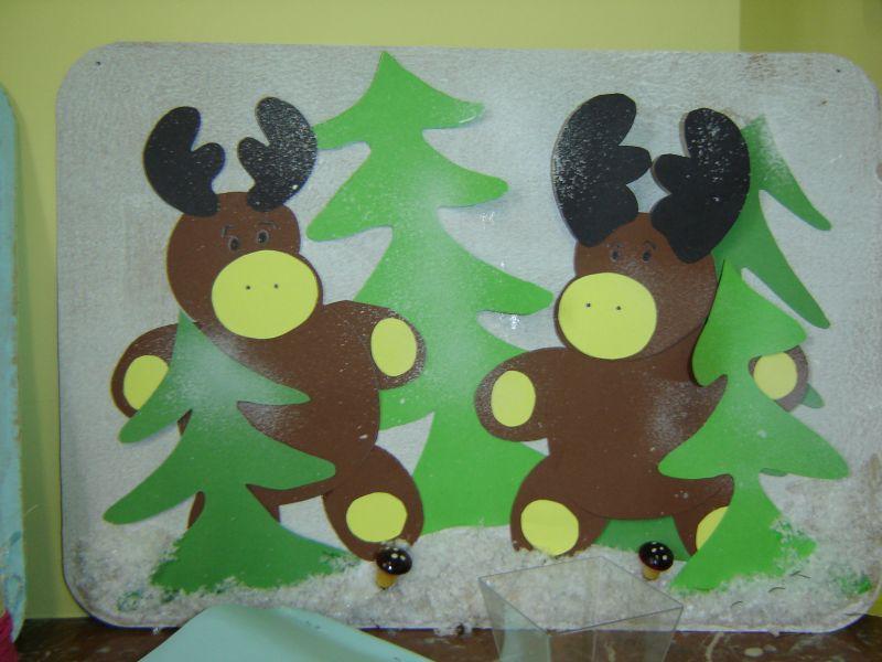 Decoration de noel garderie for Decoration fenetre noel bricolage